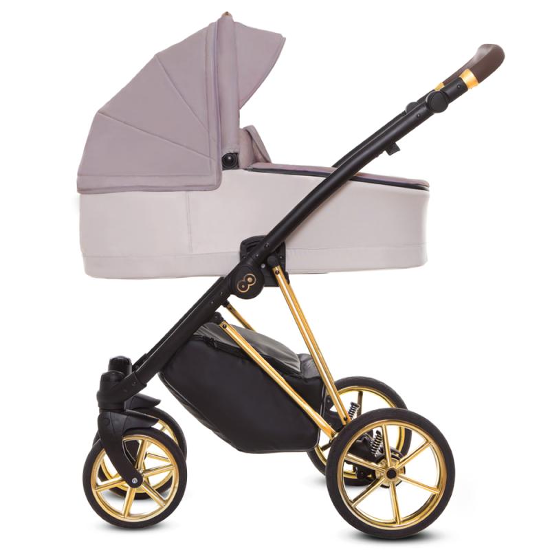 Wózek Baby Merc MANGO 4w1 Fotelik Kite + Baza isofix