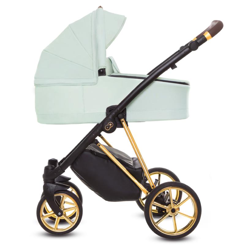 Baby Merc BEBELLO + Fotelik Kite + Baza isofix Wózek dziecięcy 4w1