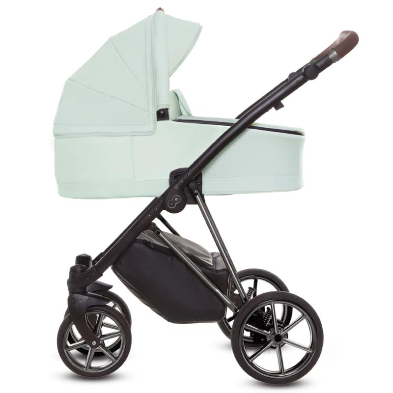 Baby Merc BEBELLO + Fotelik Kite Wózek dziecięcy 3w1