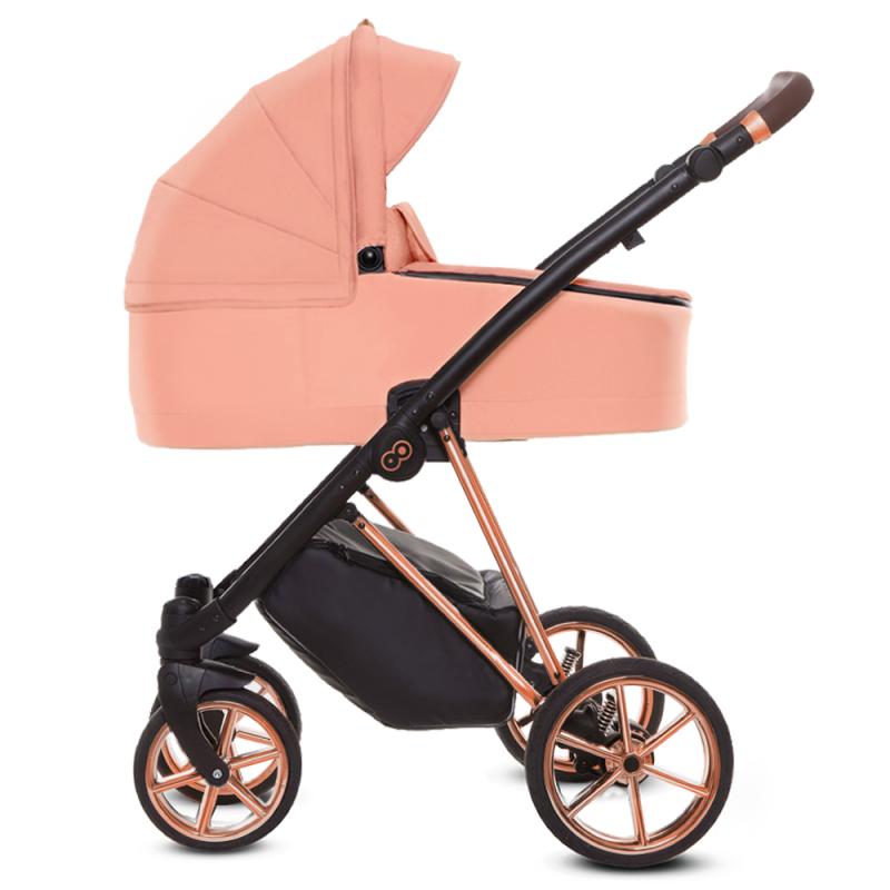 Wózek Baby Merc BEBELLO Limited 4w1 Fotelik Kite + Baza isofix