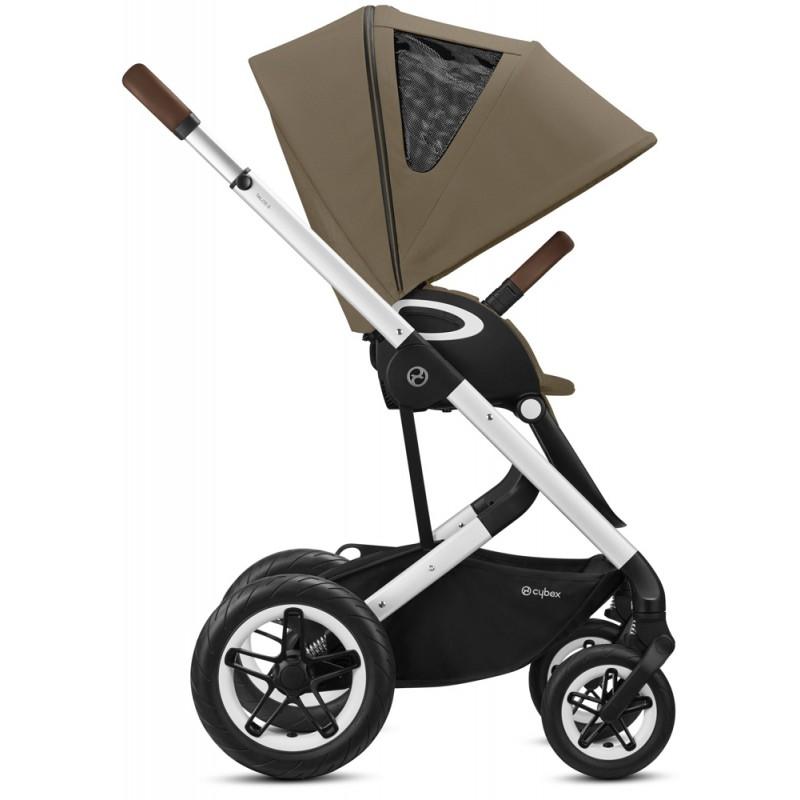 Baby Merc Zipy Q + Fotelik Kite + Baza Isofix Wózek dziecięcy 4w1