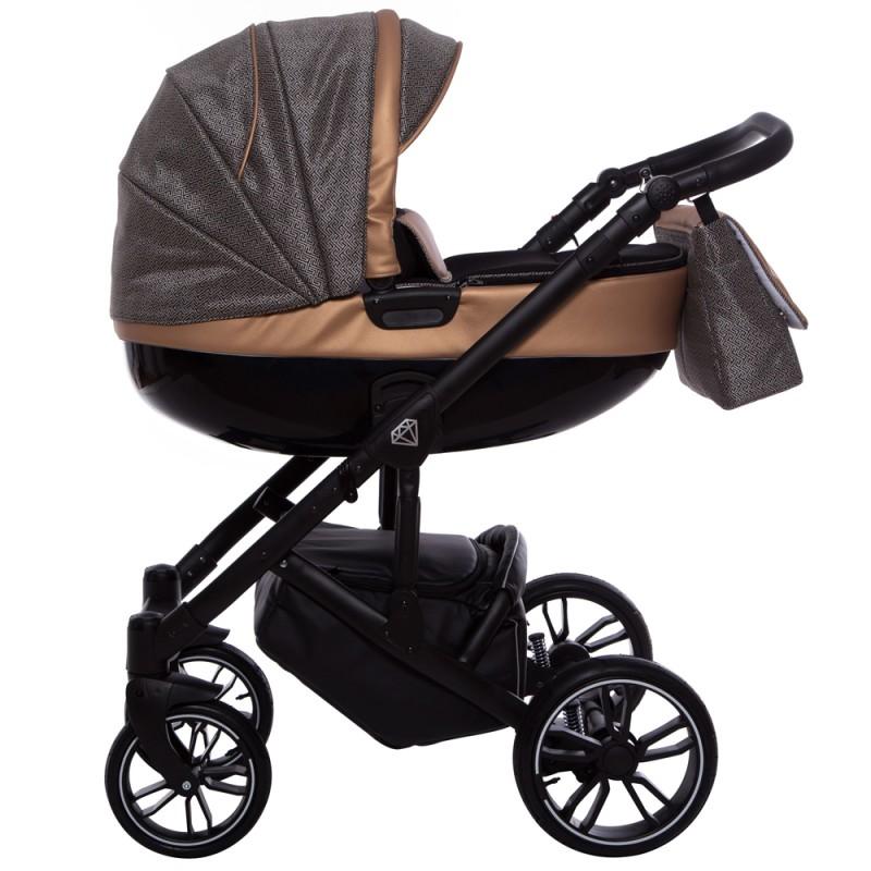 Wózek Babyactive Musse Ultra 3w1 Fotelik Maxi Cosi Citi
