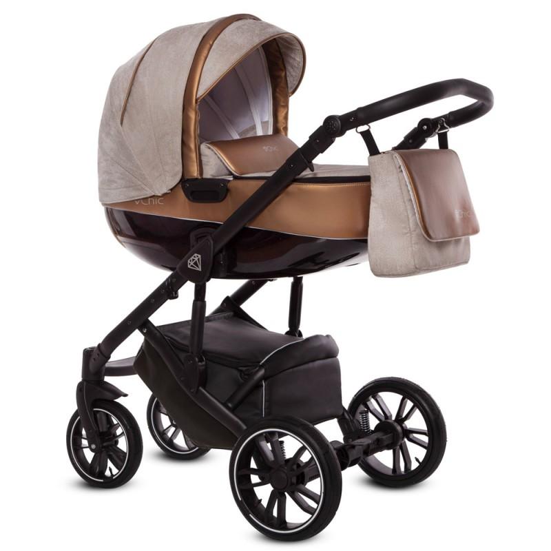 Wózek Babyactive Musse Ultra 3w1 Fotelik Maxi Cosi CabrioFix