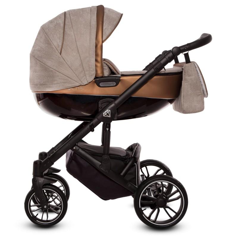 Wózek Babyactive Musse 4w1 Maxi Cosi Cabrio Fix + Family Fix
