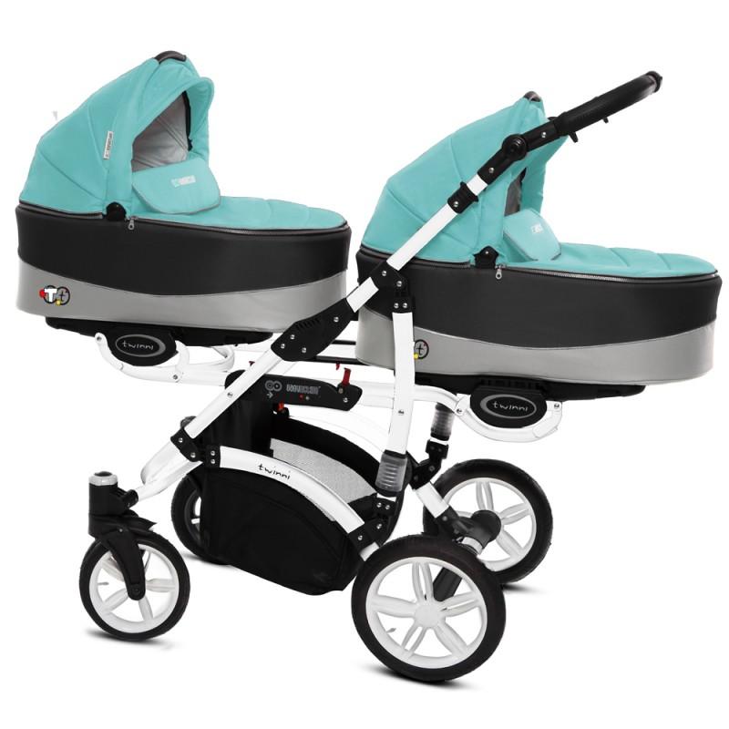 Babyactive Chic + Fotelik Kite + Baza Wózek wielofunkcyjny 4w1