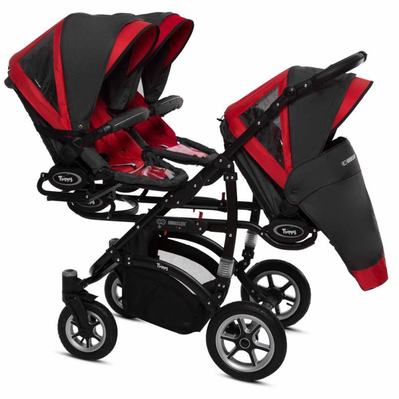 Dada Paradiso Apus Black Premium Wózek wielofunkcyjny 2w1