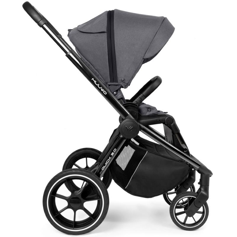 Babyactive Twinni Premium Wózek bliźniaczy 4w1