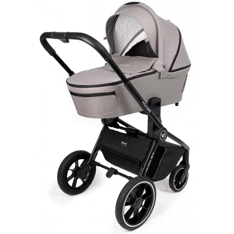 Babyactive Twinni Premium Wózek bliźniaczy  3w1