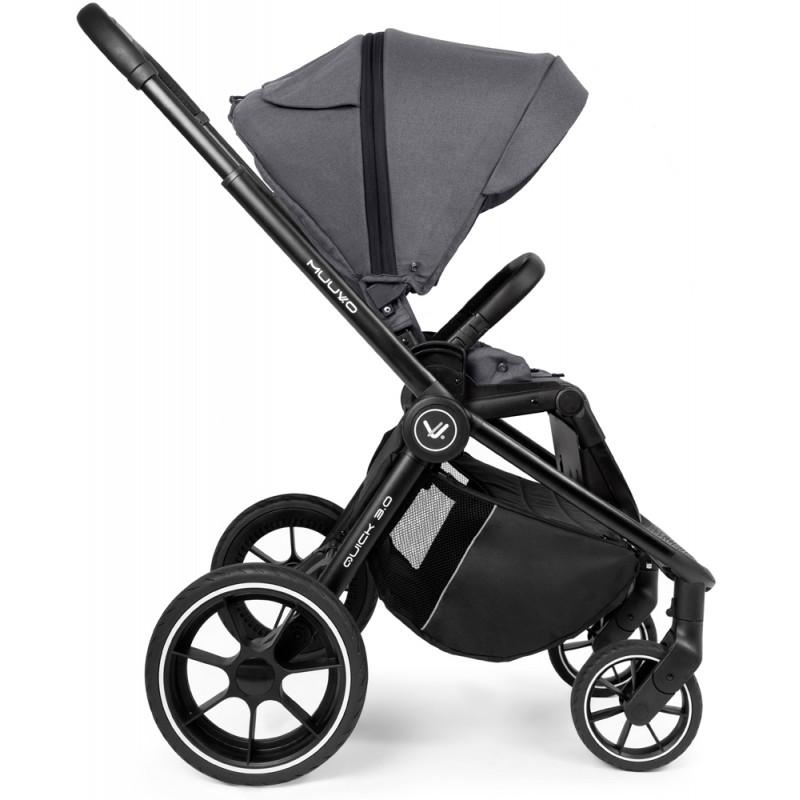Babyactive Trippy Premium Wózek trojaczy  3w1