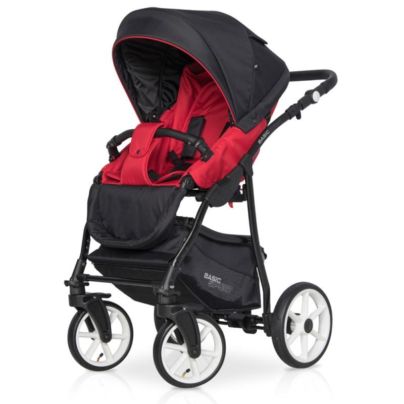 Euro-Cart Passo Pro + Fotelik + Baza Wózek wielofunkcyjny 4w1