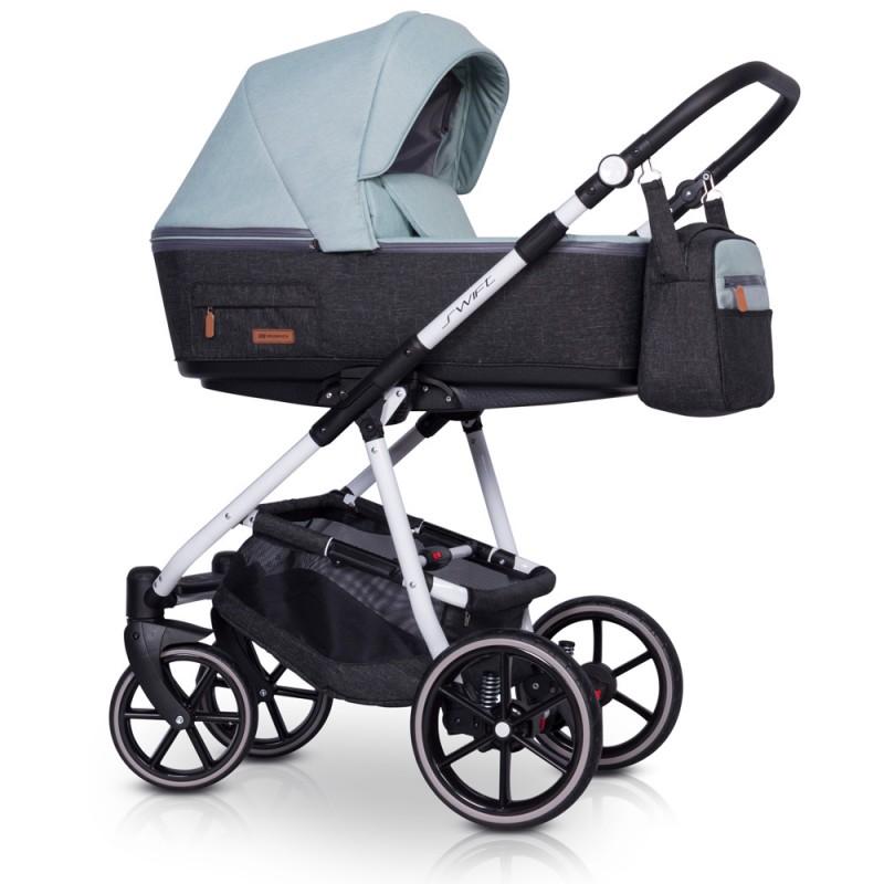 Riko Side + Fotelik Maxi Cosi CabrioFix Wózek wielofunkcyjny 3w1